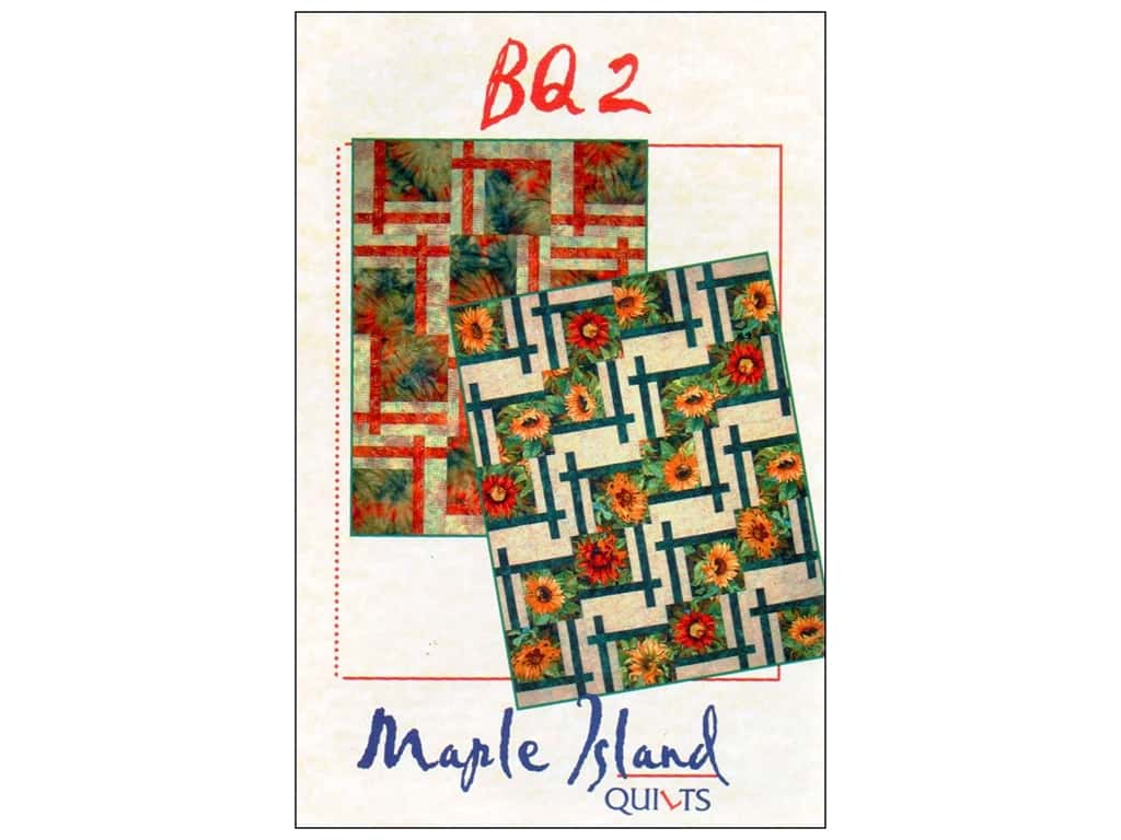 Maple Island Quilts BQ2 Pattern 1