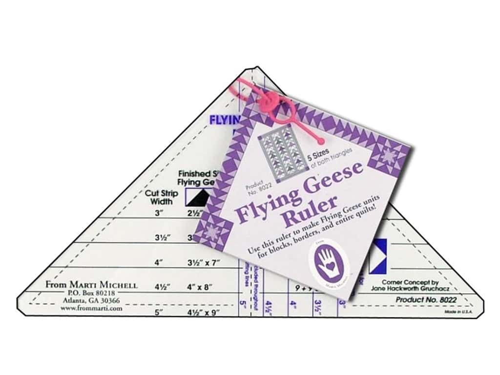 marti michell flying geese ruler createforless 4 X 4 Gauze Pads marti michell flying geese ruler