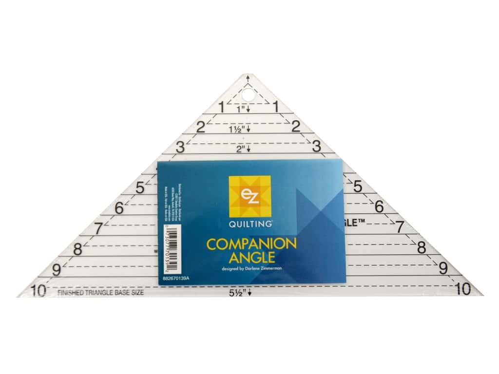 Ez Quilting Companion Angle Acrylic Template 10 In