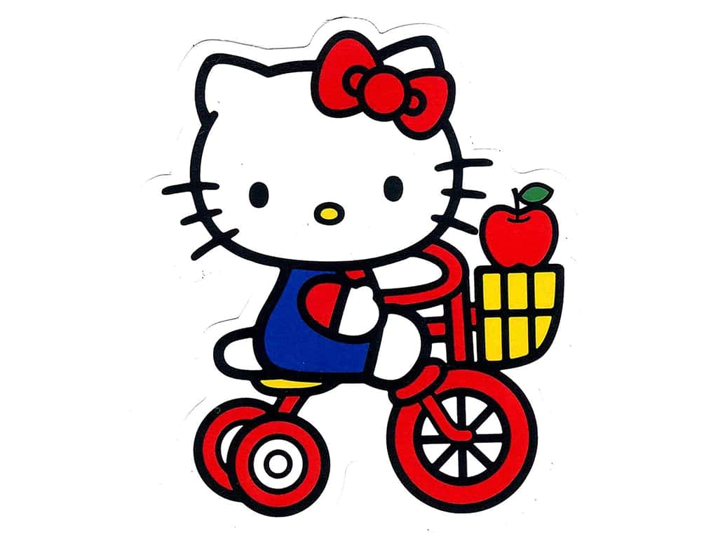 Cu0026D Visionary Sticker Hello Kitty Tricycle