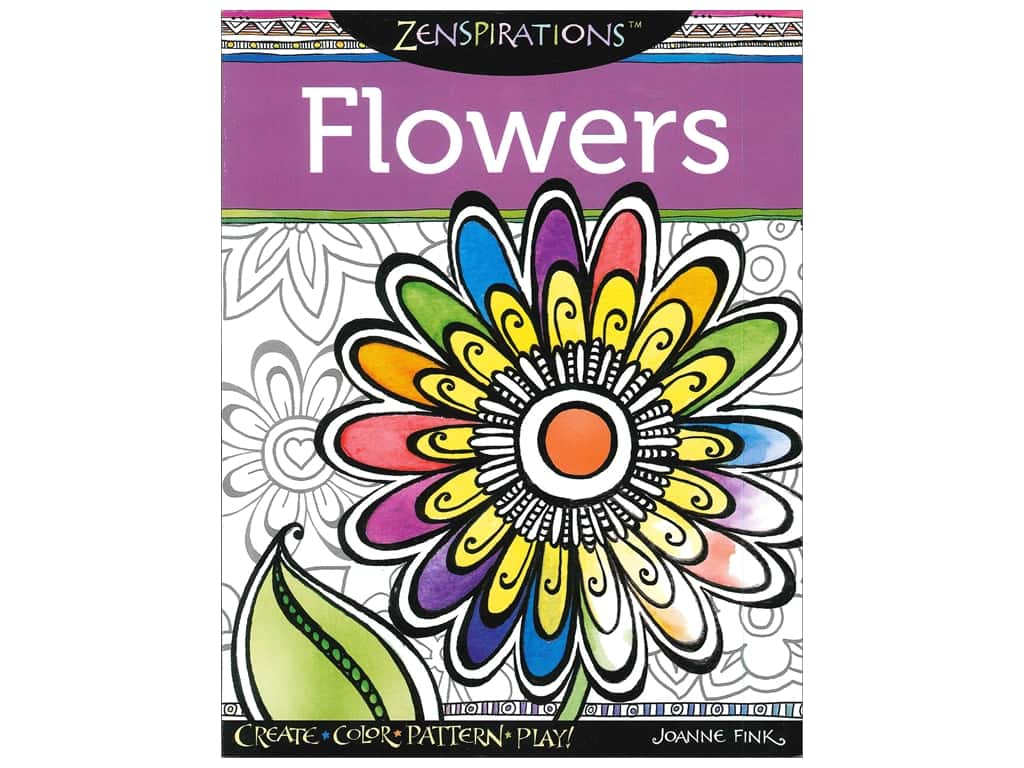 Zenspirations Flowers Book Createforless
