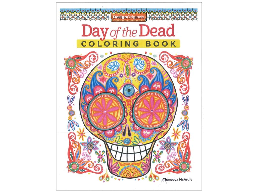 - Day Of The Dead Coloring Book -- CreateForLess