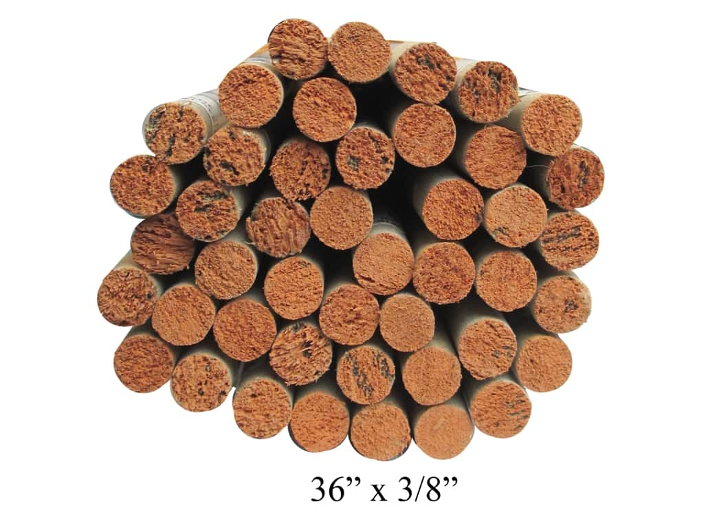 Wood Dowels 36 X 3 8 In 45 Pieces