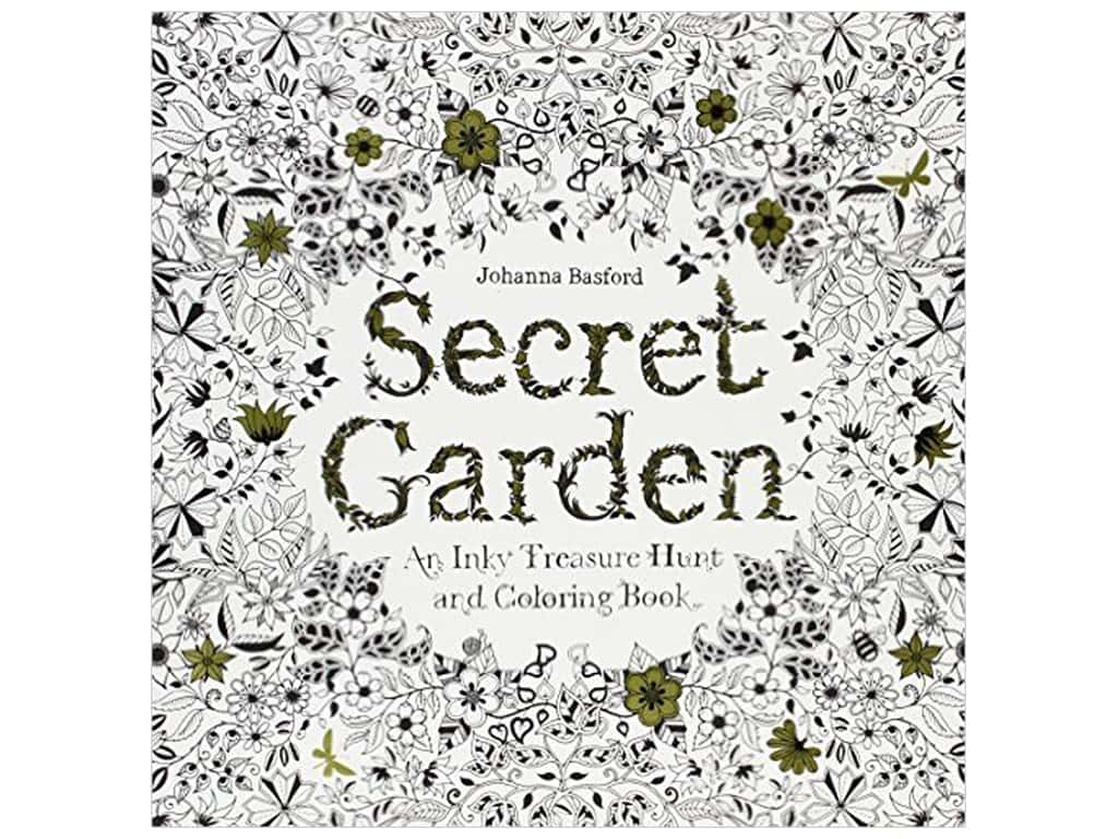 Secret Garden Coloring Book -- CreateForLess