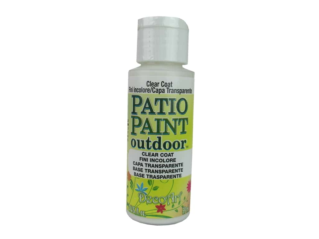 Fine Decoart Patio Paint Outdoor Acrylic Paint 2 Oz 24 Clear Coat 1 Download Free Architecture Designs Embacsunscenecom