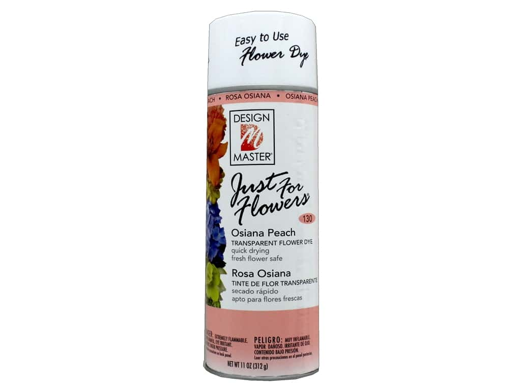Design Master Just For Flowers 11oz Osiana Peach Createforless