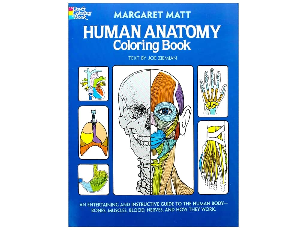 Dover Publications Human Anatomy Coloring Book 1