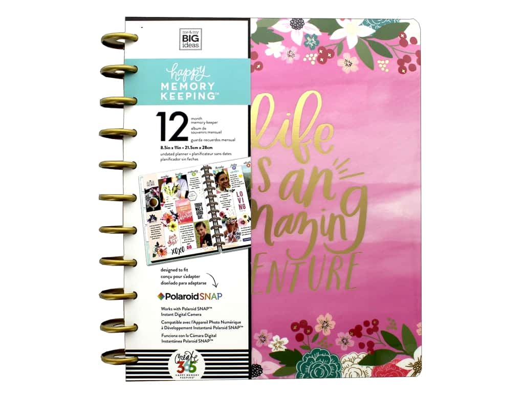 Me My Big Ideas Create 365 The Happy Planner Big Life Is An Amazing Adventure