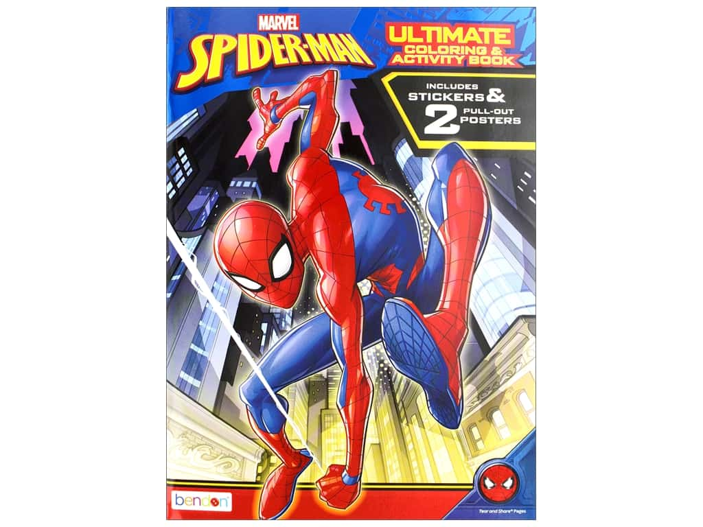 Bendon Ultimate Coloring & Activity Book Spider-Man 1