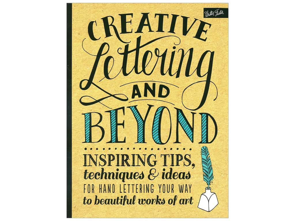 creative lettering and beyond  Creative Lettering and Beyond Book -- CreateForLess