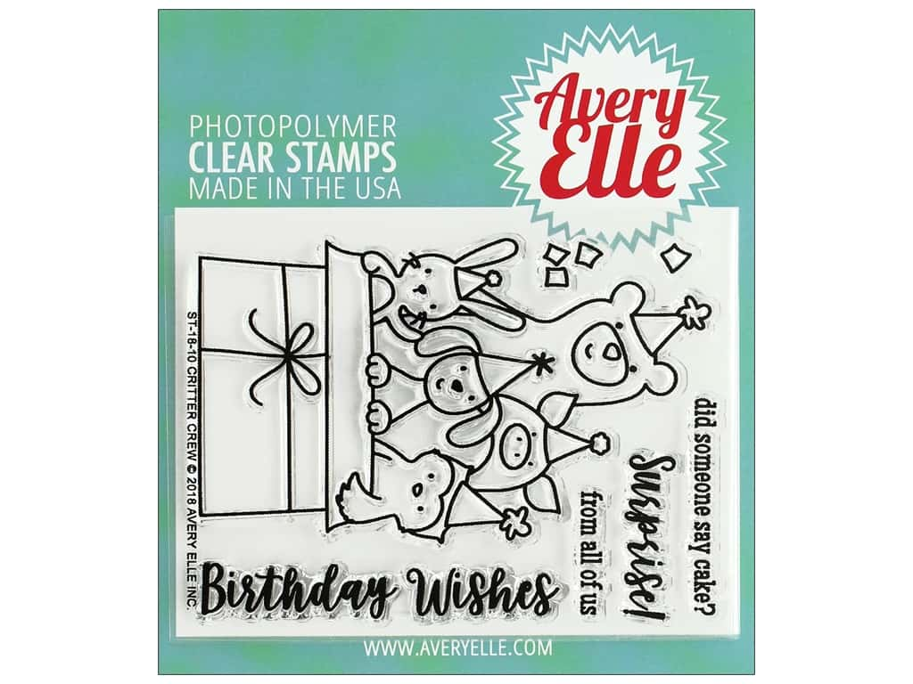 Avery Elle Clear Stamp