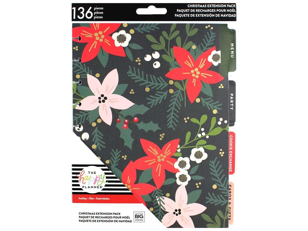 Me&My Big Ideas Collection Create 365 Happy Planner Extensions Classic  Christmas 1