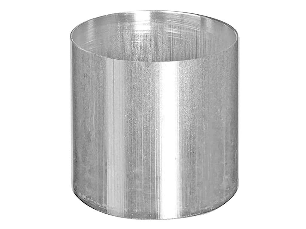 Country Lane Candle Mold Aluminum 3 in  x 3 5 in