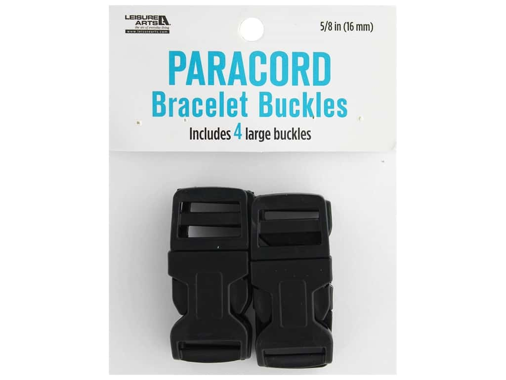 Leisure Arts Paracord Bracelet Buckles